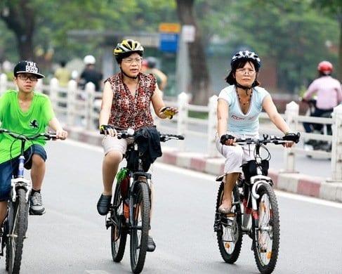 Mua xe đạp cho mẹ 60 tuổi cao 1m57