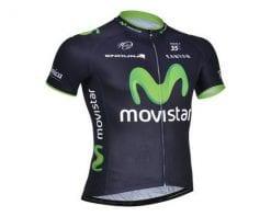 Áo xe đạp Movistar