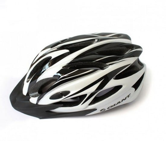 Mũ bảo hiểm xe đạp Giant Trắng Đen