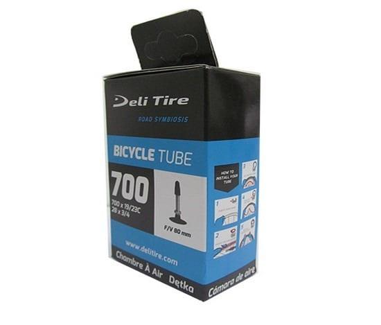 Ruột xe đạp Deli Indo 700c (60mm) AV