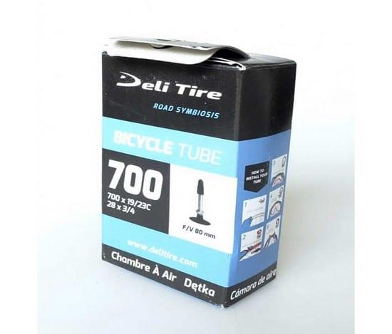 Ruột xe đạp Deli Indo 700c (80mm) FV