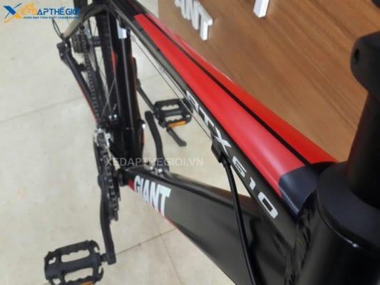 Khung xe đạp thể thao Giant ATX 610 phiên bản màu Đen Đỏ