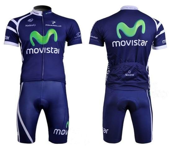 Bộ quần áo xe đạp Movistar