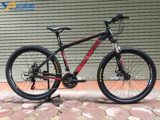 Xe đạp thể thao Twitter TW3000 2018 màu đen - đỏ