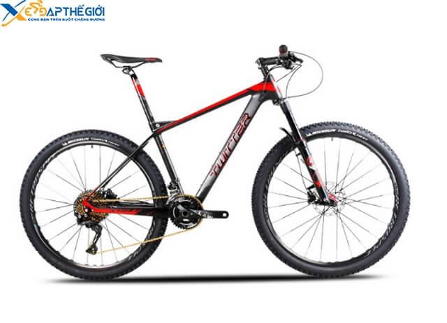 Xe đạp twitter stricker màu Đen- Đỏ