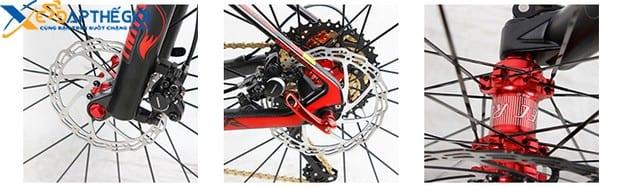 Hub và phanh của xe đạp twitter stricker 27.5