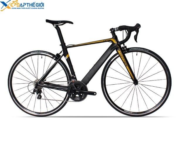 Xe đạp đua Twitter 750 màu Đen pha Cam