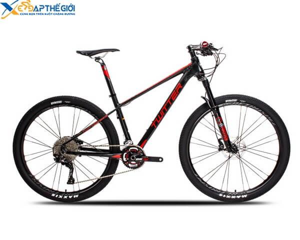 Xe đạp thể thao Twitter Blackhawk màu Đen - Đỏ