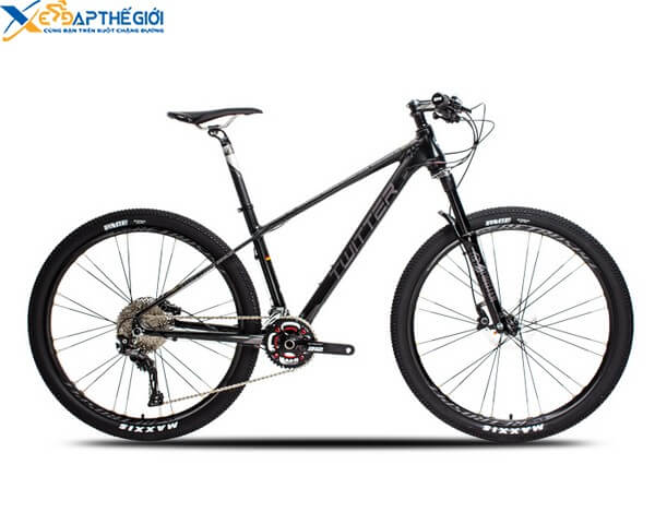Xe đạp thể thao Twitter Blackhawk màu Đen