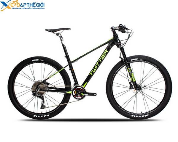 Xe đạp thể thao Twitter Blackhawk màu Đen - Vàng
