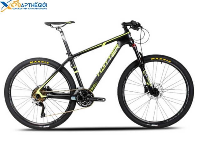 Xe đạp thể thao Twitter Roubai màu Đen - Vàng