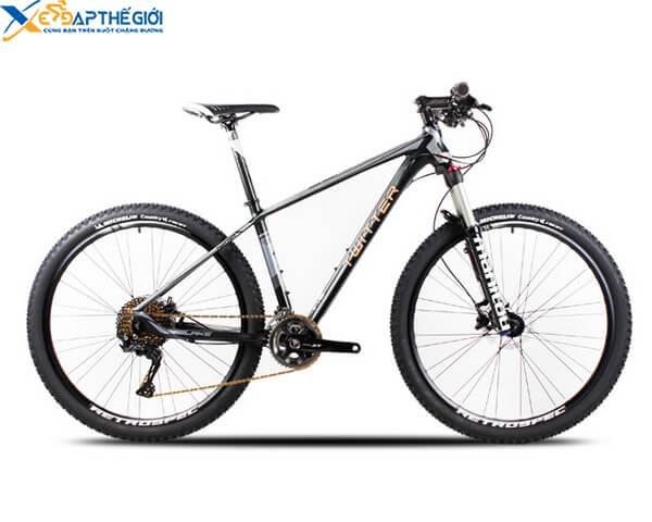 Xe đạp địa hình Twitter Blake màu Đen pha Ghi - Cam