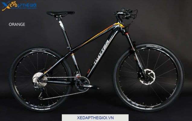 Xe đạp thể thao Twiitter Elvis phiên bản màu Đen Cam