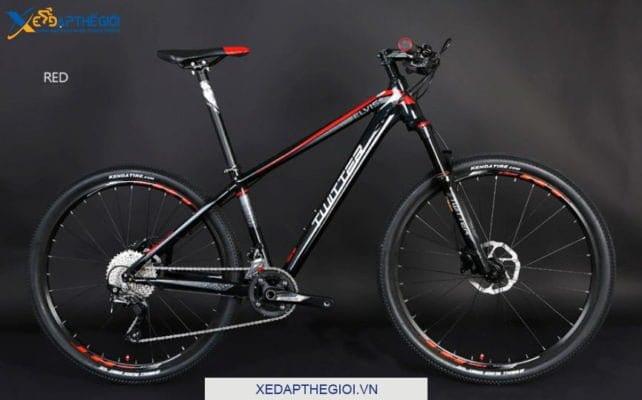 Xe đạp thể thao Twiitter Elvis phiên bản màu Đen Đỏ