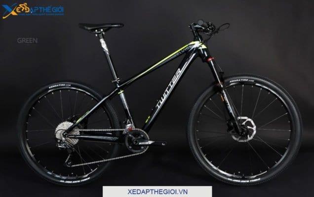 Xe đạp thể thao Twiitter Elvis phiên bản màu Đen Xanh Lá