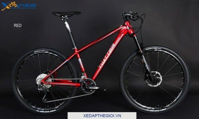 Xe đạp thể thao Twiitter Elvis phiên bản màu Đỏ Mận