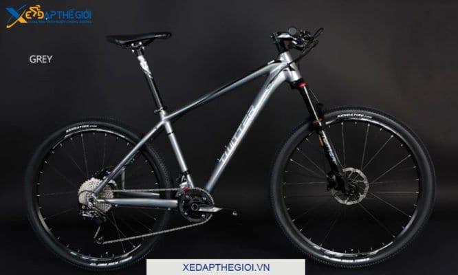 Xe đạp thể thao Twiitter Elvis phiên bản màu Ghi