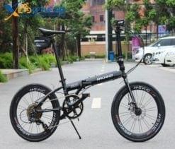 xe đạp gấp Hachiko HA-04