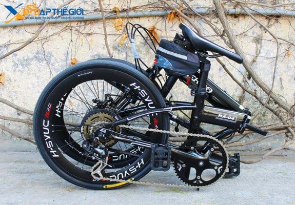 Xe đạp gấp Hachiko HA-04 dễ dàng gấp gọn
