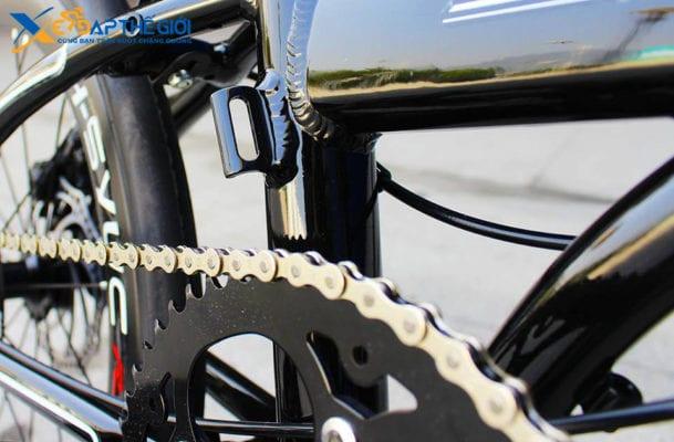 Mối hàn khung xe đạp gấp Hachiko HA-04