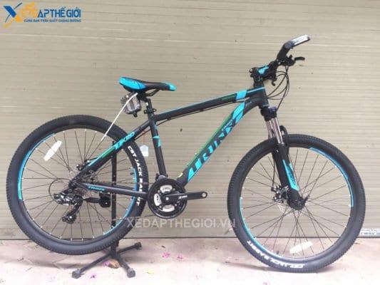 Xe đạp thể thao Trinx TX20 2018 phiên bản Đen - Xanh dương