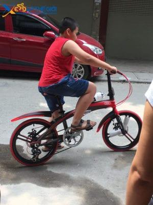 Hướng dẫn chọn lựa xe đạp gấp cho học sinh , sinh viên -4