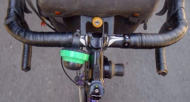 Tay lái xe đạp Touring - các vị trí đặt tay -1