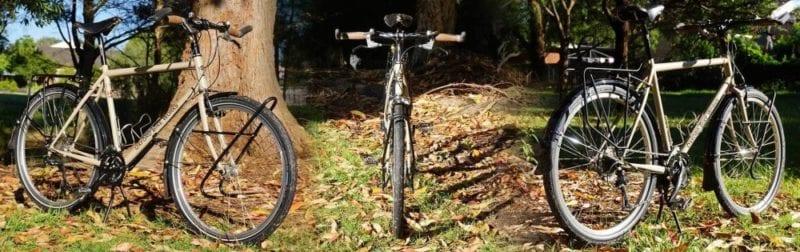 Tay lái xe đạp Touring các loại tay lái phổ biến-1