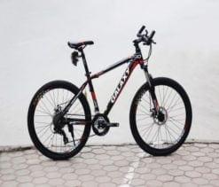 Xe đạp thể thao Galaxy ML200 màu Đem - đỏ