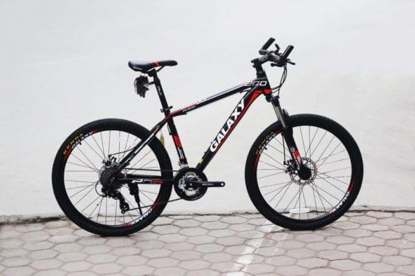 Xe đạp thể thao Galaxy ML200 phiên bản Đen -đỏ