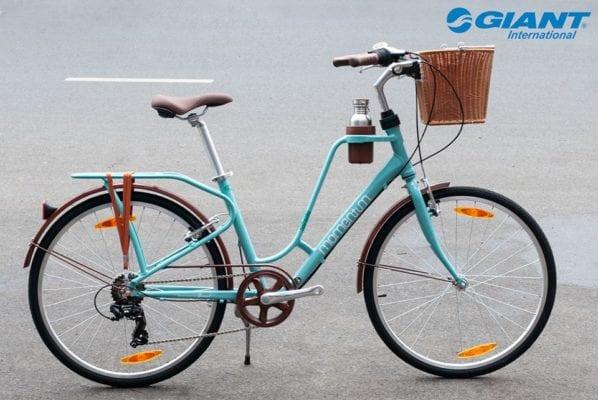 Xe đạp thể thao Giant Ineed Latte 2019 màu xanh ngọc