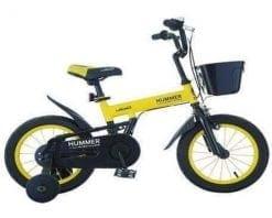 Xe đạp trẻ em HUMMER màu vàng
