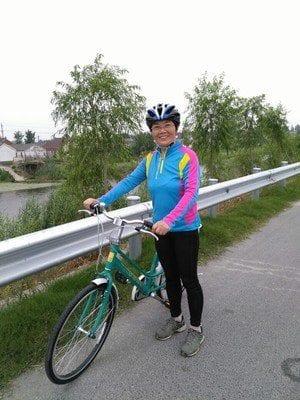 Cô Dung -Nghệ An mua xe đạp Giant Ineed 1500-1