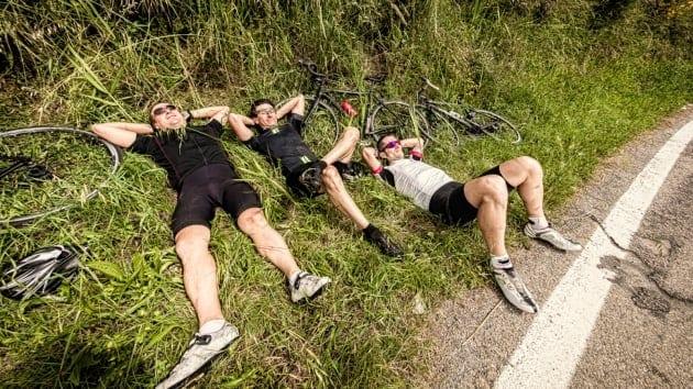 Làm thế nào để có một giấc ngủ ngon sau một ngày đi xe đạp mệt mỏi
