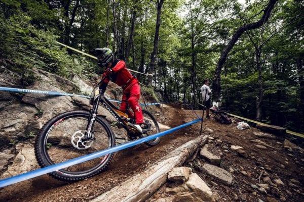 Vị trí tốt trên xe đạp MTB