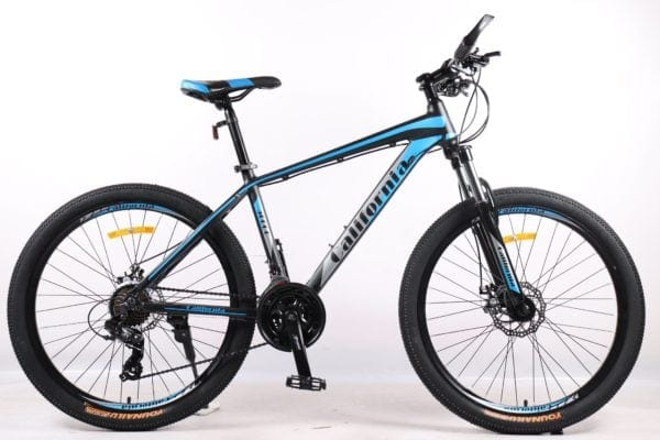 Xe đạp thể thao California 500cc phiên bản màu Đen Xanh dương