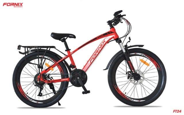 Xe đạp thể thao Fornnix FT24 phiên bản màu Đỏ