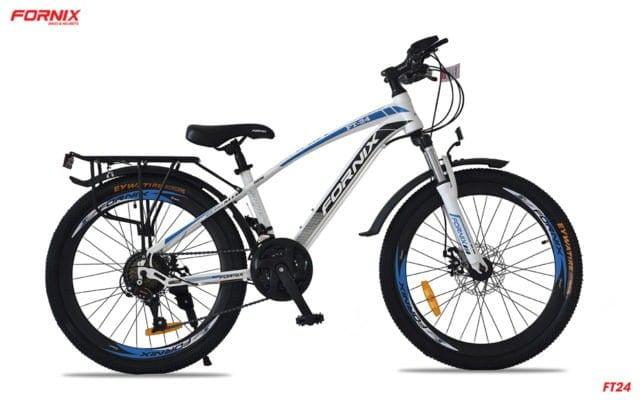 Xe đạp thể thao Fornix FT24 màu trắng xanh dương