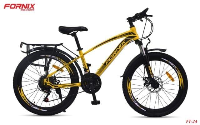 Xe đạp thể thao Fornix FT24 phiên bản màu Vàng