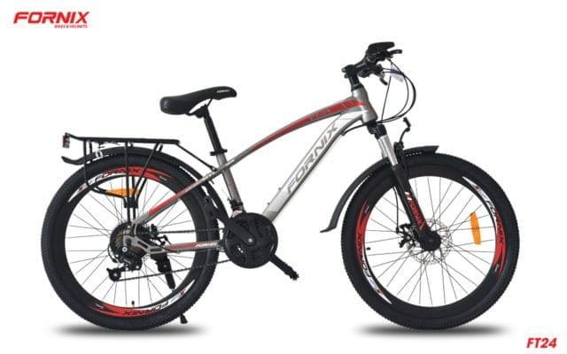 Xe đạp thể thao Fornix FT24 phiên bản màu Xám Đỏ