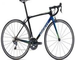Xe đạp thể thao Giant TCR Advanced 1 SE 2019 phiên bản Đen Xanh dương