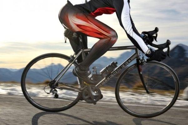 Tăng sinh Collagen khi đi xe đạp
