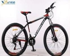 Xe đạp thể thao California 250cc đen đỏ