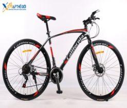 Xe đạp thể thao California City 100 đen đỏ