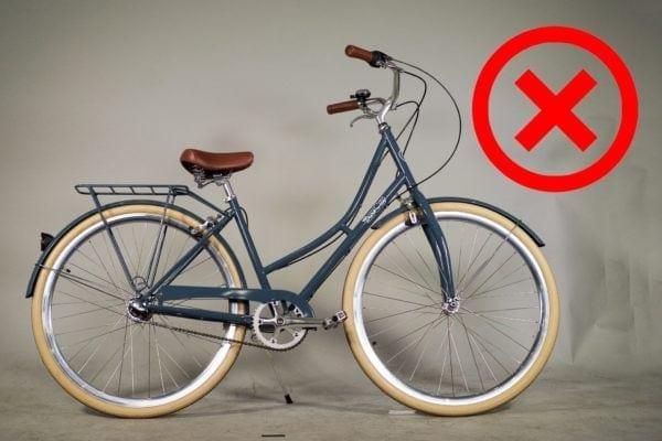 Lắp phuộc xe đạp ngược
