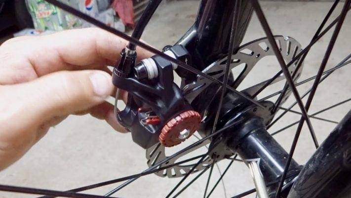 Bảo dưỡng phanh đĩa xe đạp