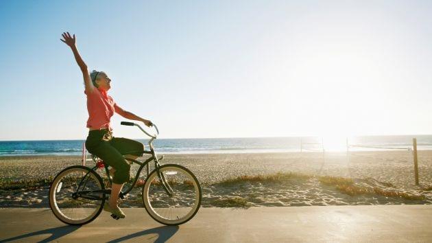 Cải thiện chức năng của não khi đi xe đạp