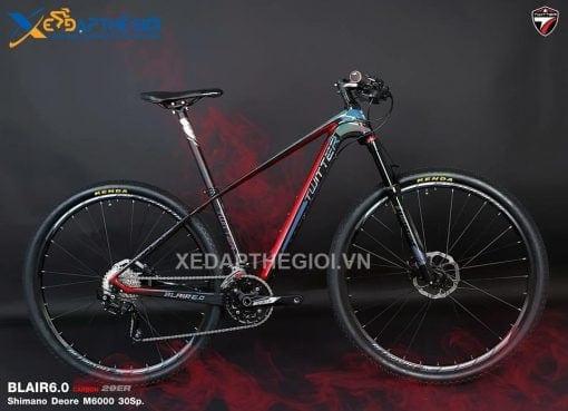 Xe đạp thể thao Twitter Blair 6.0 29 inchs phiên bản màu Đen Đỏ