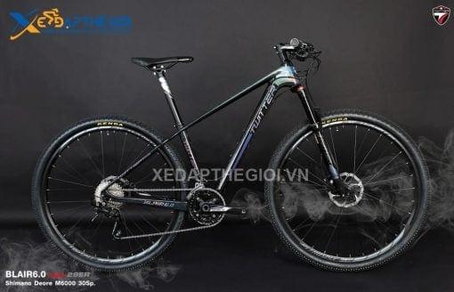 Xe đạp thể thao Twitter Blair màu Đen Tím than