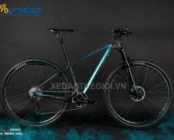 Xe đạp thể thao Twitter Blair 6.0 màu đen xanh dương